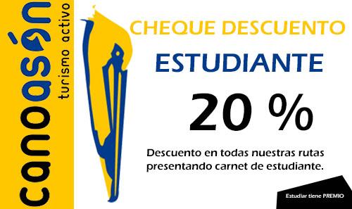 Nueva promoción ¡ CanoAsón premia a los estudiantes !